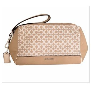 Coach Makeup Bag Wristlet